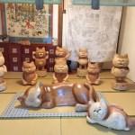 ヴェゼルで猫寺にいってみた