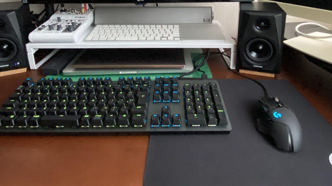 自作PCをG502とG512でゲーミング仕様にしてみた