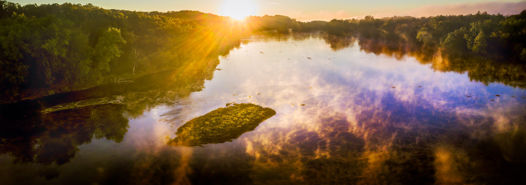 Potomac River, Sunrise, Pennyfield Lock
