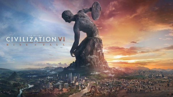 Civilisation VI Rise and Fall Mac OS X New EXPANSION PACK Download