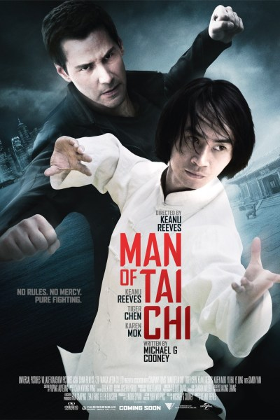 Man of Tai Chi Movie Poster from director/co-star Keanu Reeves