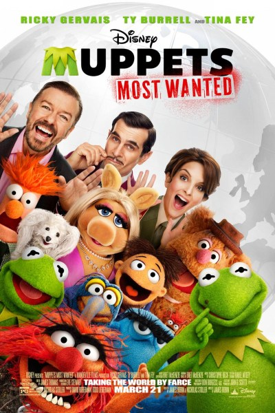 Muppets Most Want Movie Poster