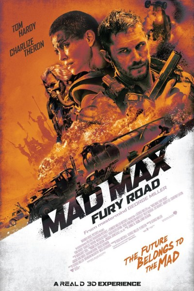 Mad Max: Fury Road Movie Poster