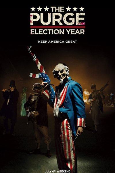 Purge Election Year Movie Poster