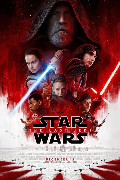 Star Wars: The Last Jedi Movie Poster