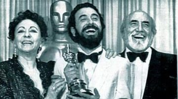 Garci con el primer Oscar al cine español