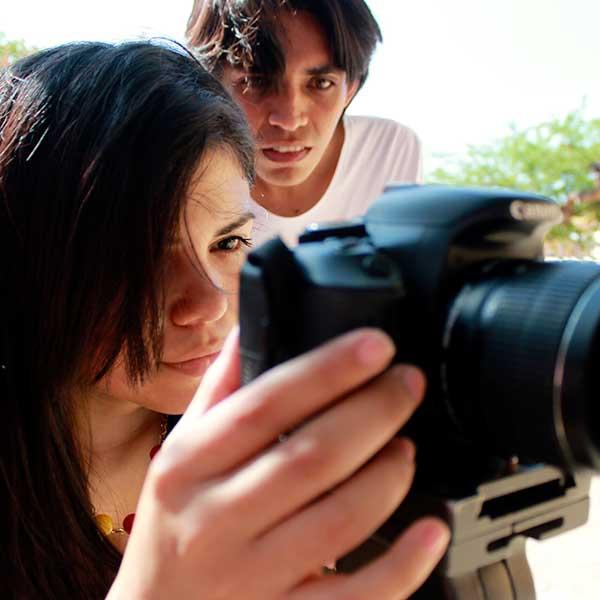 Director y camarógrafa de Entre Gustos y Colores