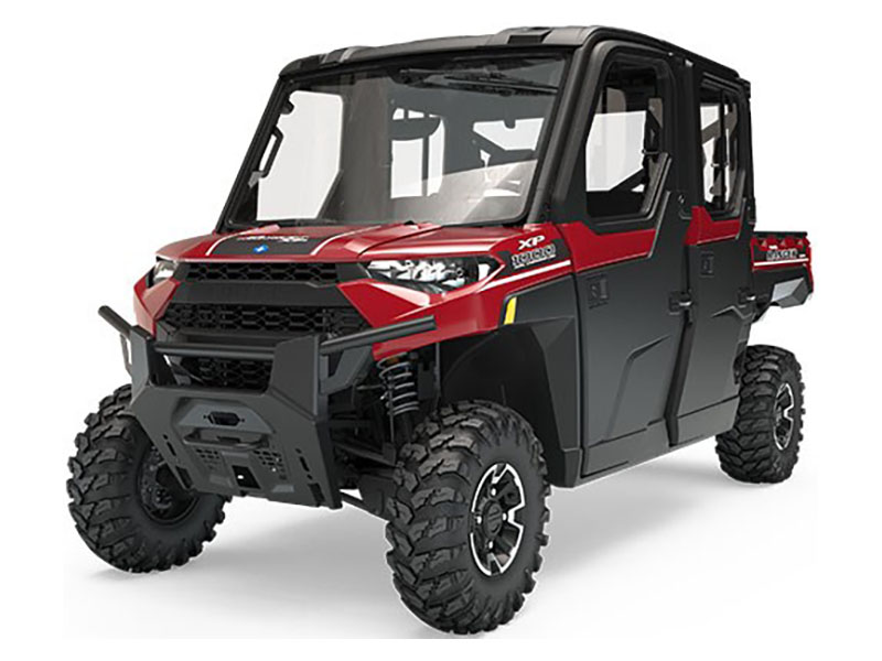 Ranger Crew XP 1000 EPS HVAC Sunset Red