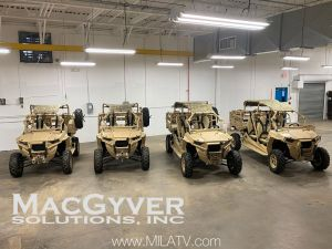 Polaris MRZR Diesel Utility Vehicles for US DOD Customer