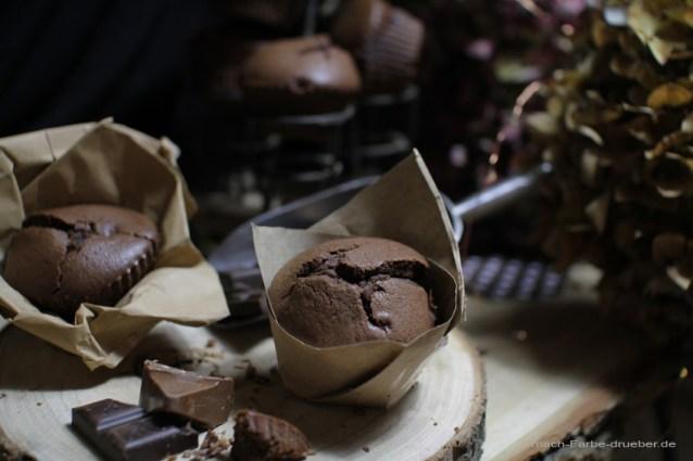 Schokomuffins mit Toblerone