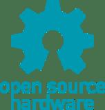 OSHW Logo - credit the Open Source Hardware Association