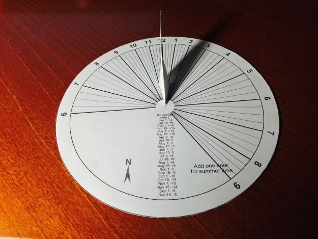 paper sundial | Mach 30