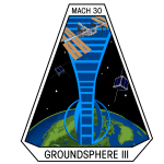 Ground Sphere Satellite Ground Station Mission Patch