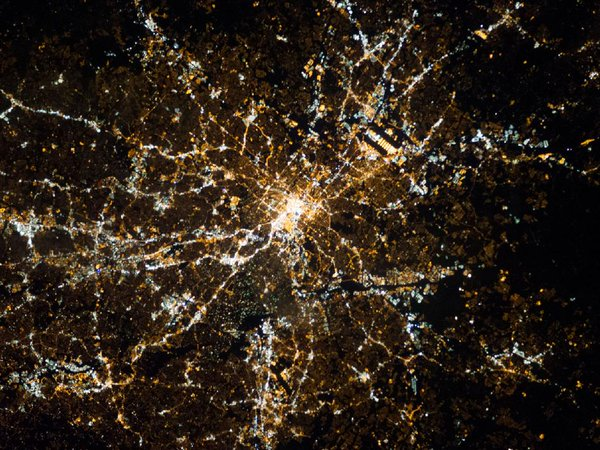 Space Station photo of Atlanta