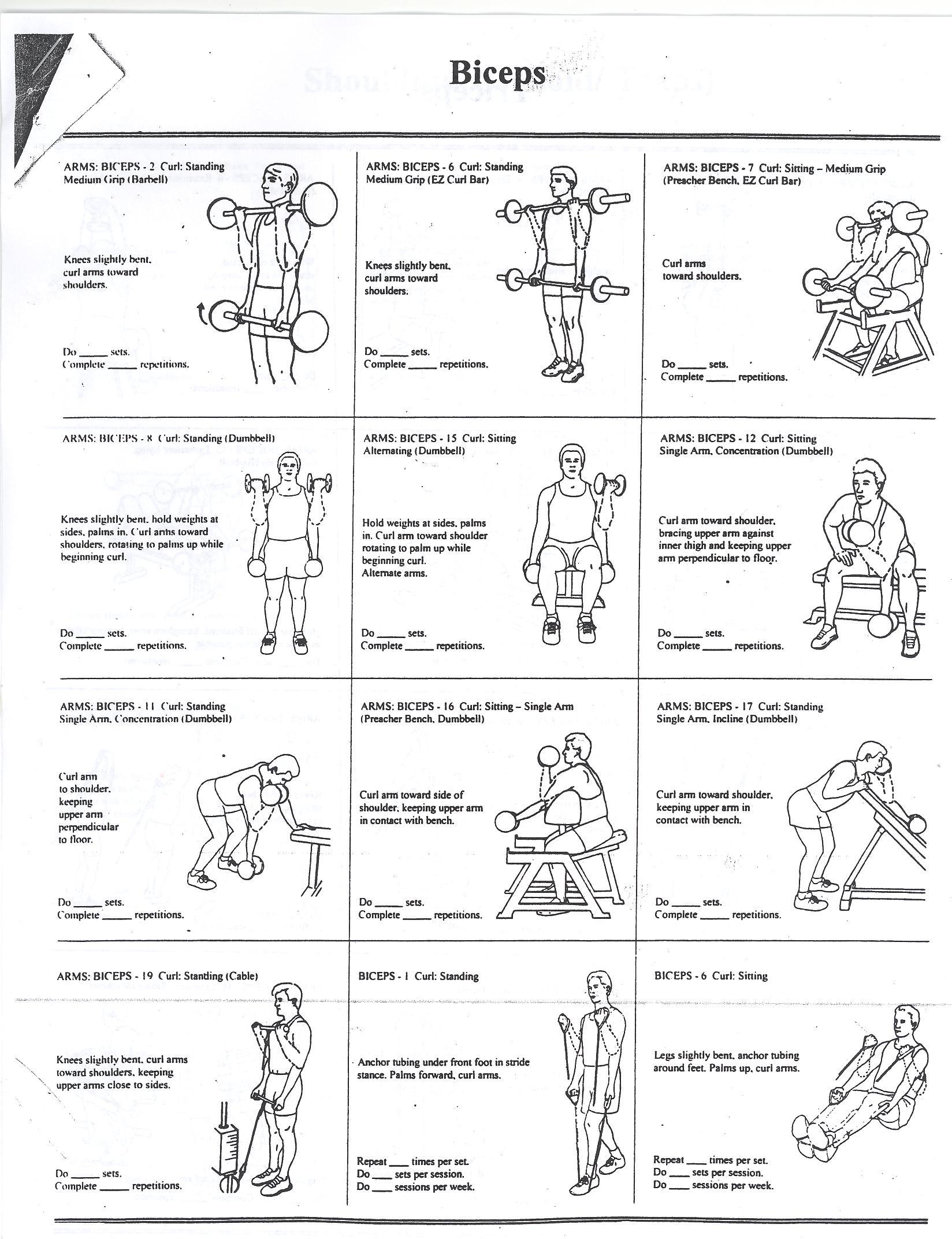 Workout Charts