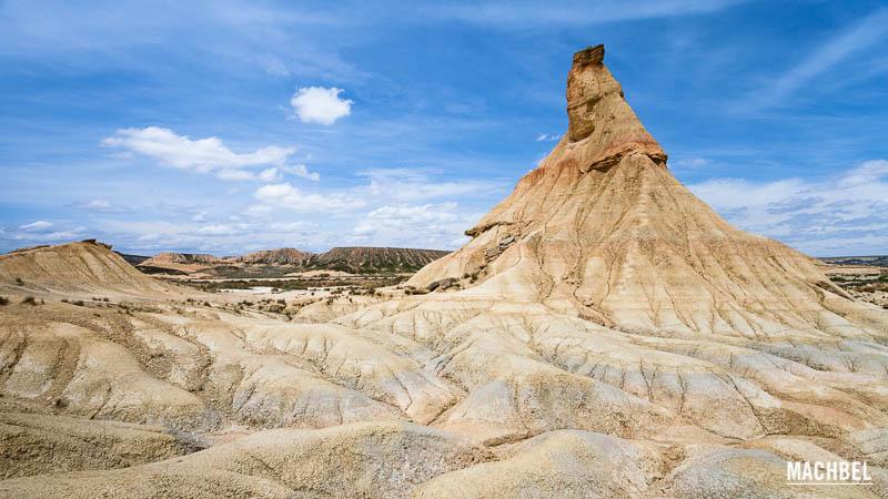 Castildeterra Bardenas Reales Navarra 10 lugares naturales de España que todos deberíamos conocer