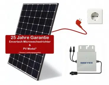 Alpha-Solar 295 W/305 W Balkonkraftwerk Trina Solar