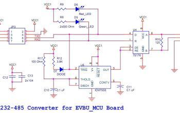 Mạch chuyển đổi RS232 - RS485 cho PC, Board