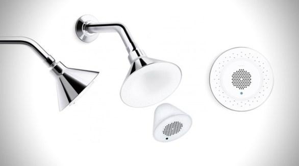 Moxie Showerhead + Wireless Speaker