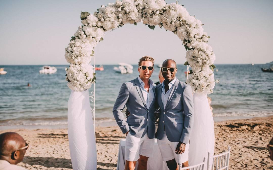 Beautiful same-sex wedding