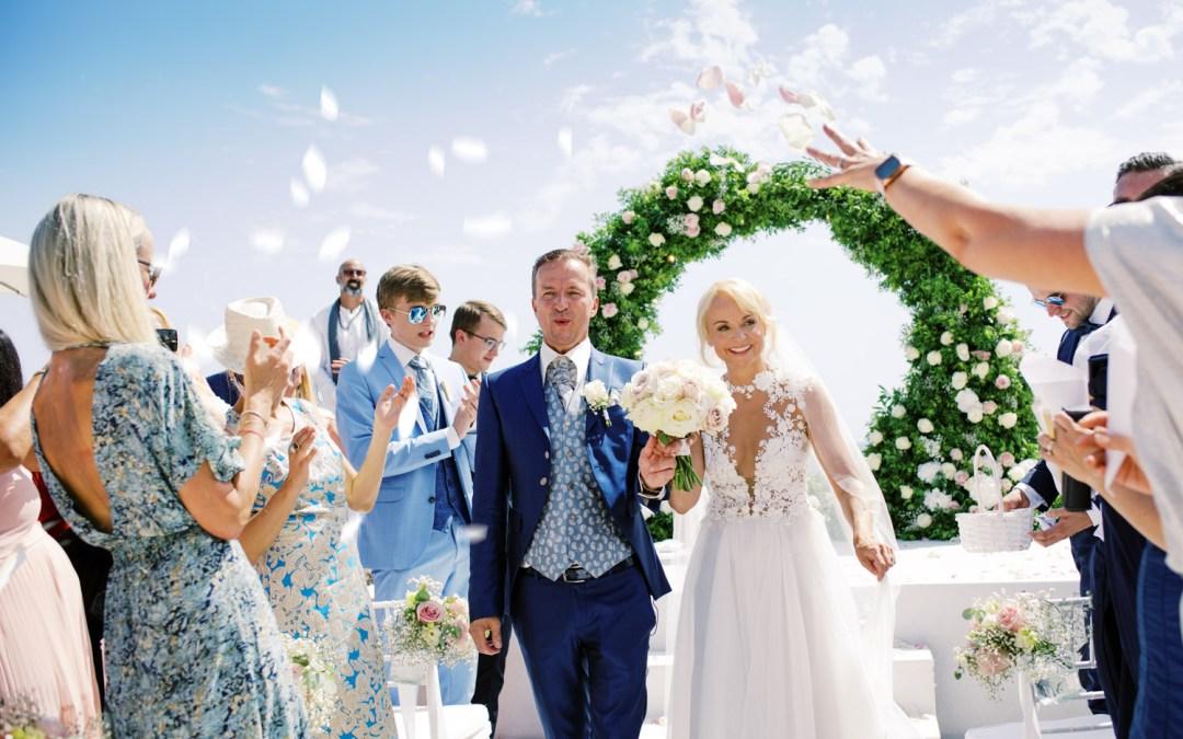 Ingrida & Chris - The wedding ceremony
