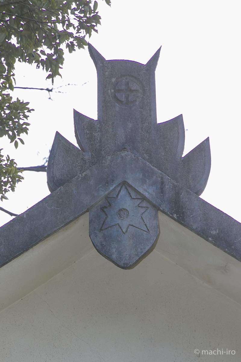 南洲神社鬼板写真