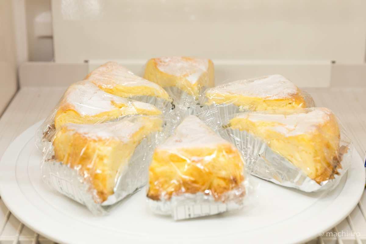 ますみさんのチーズケーキ写真