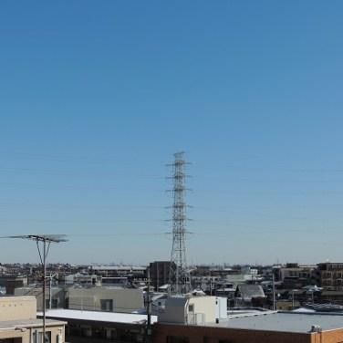5階のお部屋からの眺望