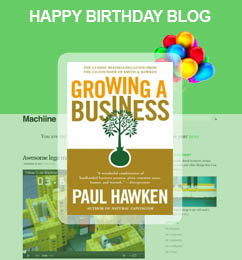 Machiine Book Giveaway - Growing a Business