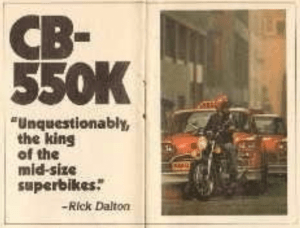 CB550 unquestionably the king of mid-sized superbikes