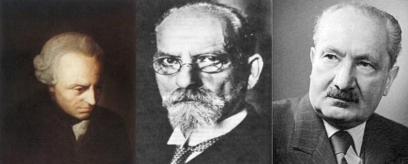 Kant - Husserl - Heidegger