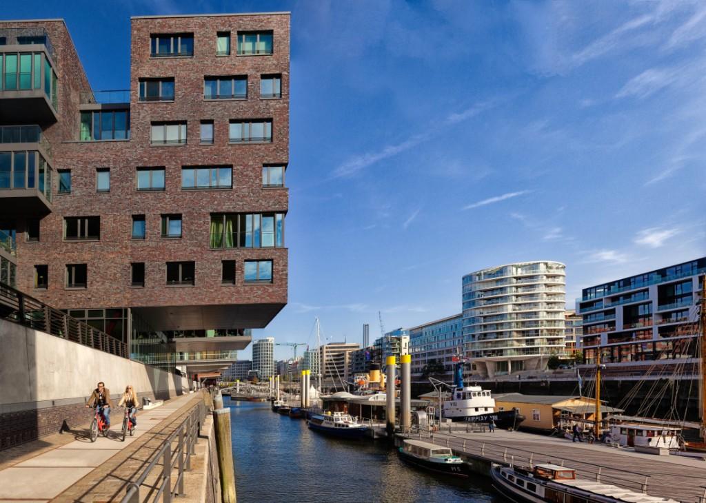 Dzielnica HafenCity w Hamburgu