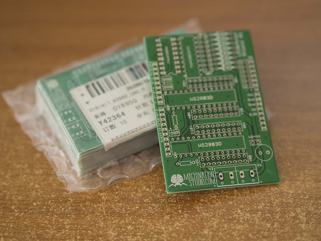 Codename Colossus PCB Packaging