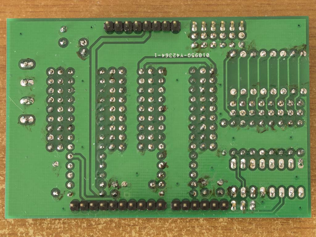 Codename Colossus PCB Soldered Bottom