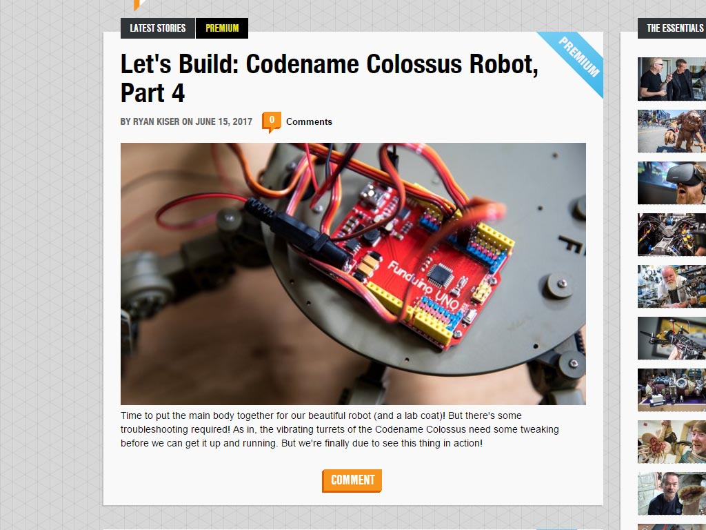 Tested.com Let's Build Codename Colossus Robot Part 4