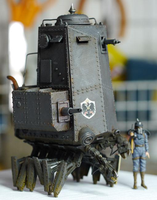 Panzer II Krabbe Soldat version   Machination Studio   Home of Codename  Colossus