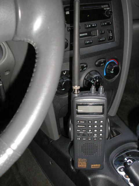 Cup Holder Car Mount For Radio Shack Handheld Scanner