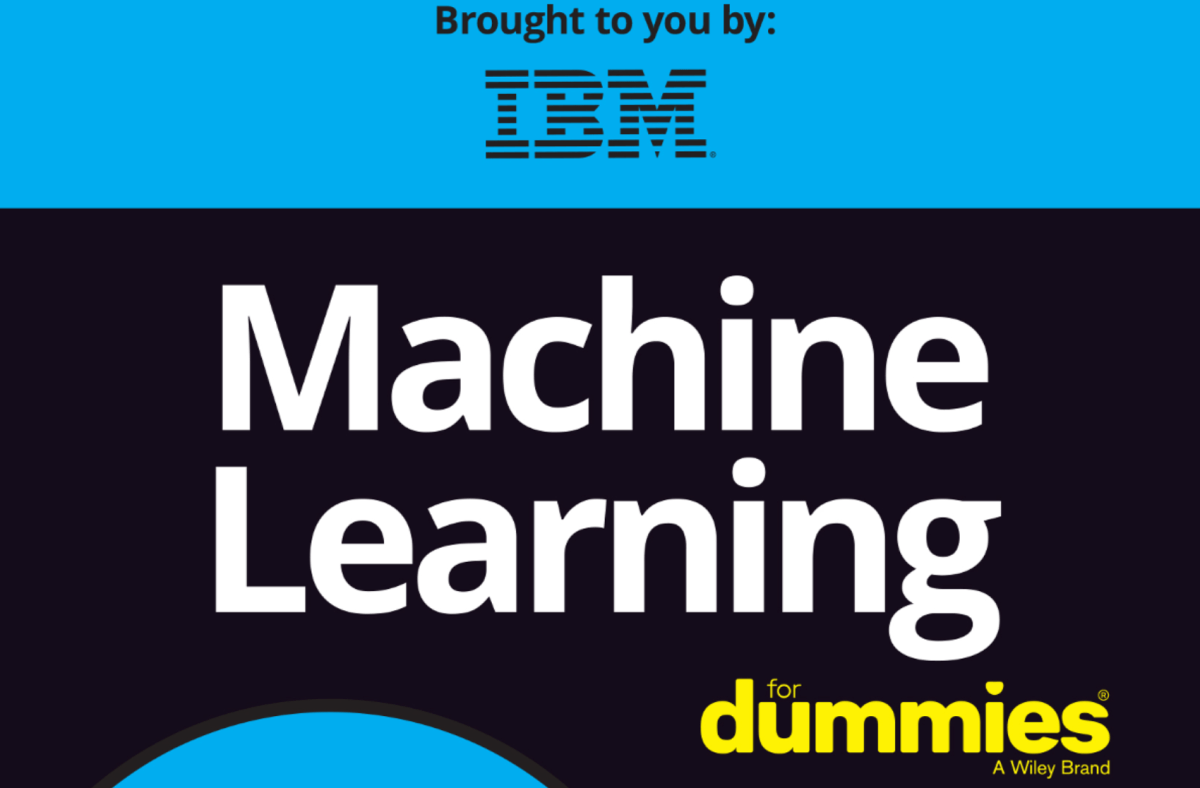 "IBM bietet ""Machine Learning for Dummies"" als PDF zum Download an"