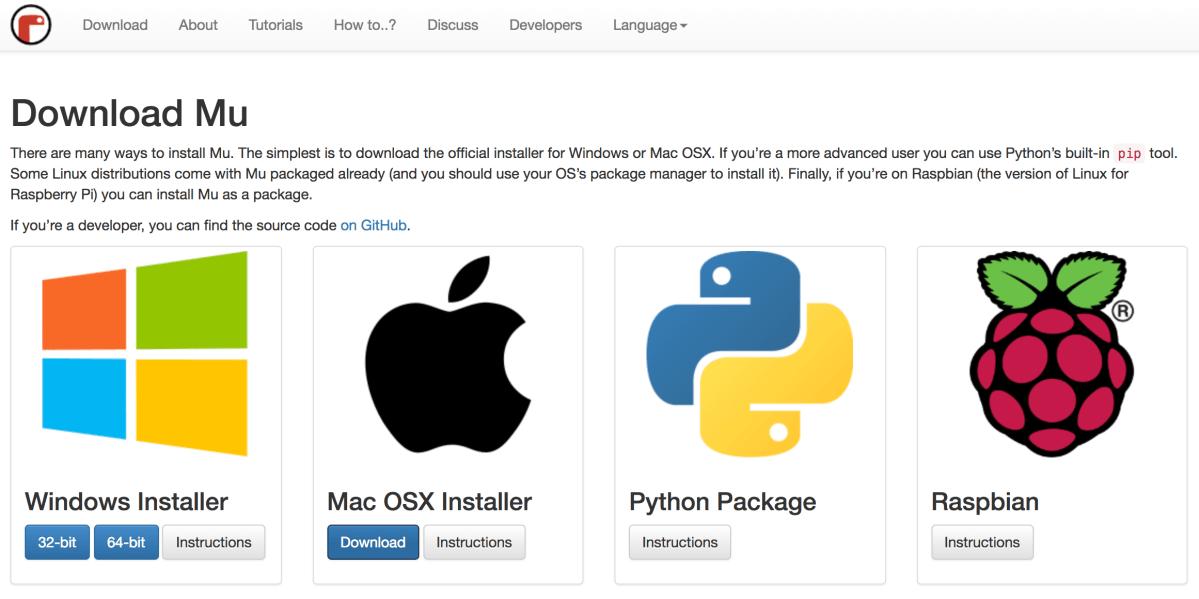 Neuer Python-Editor namens Mu steht bereit
