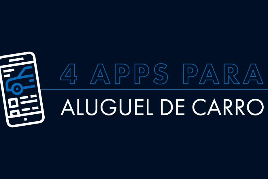 """Banner """"4 apps para aluguel de carro"""""""