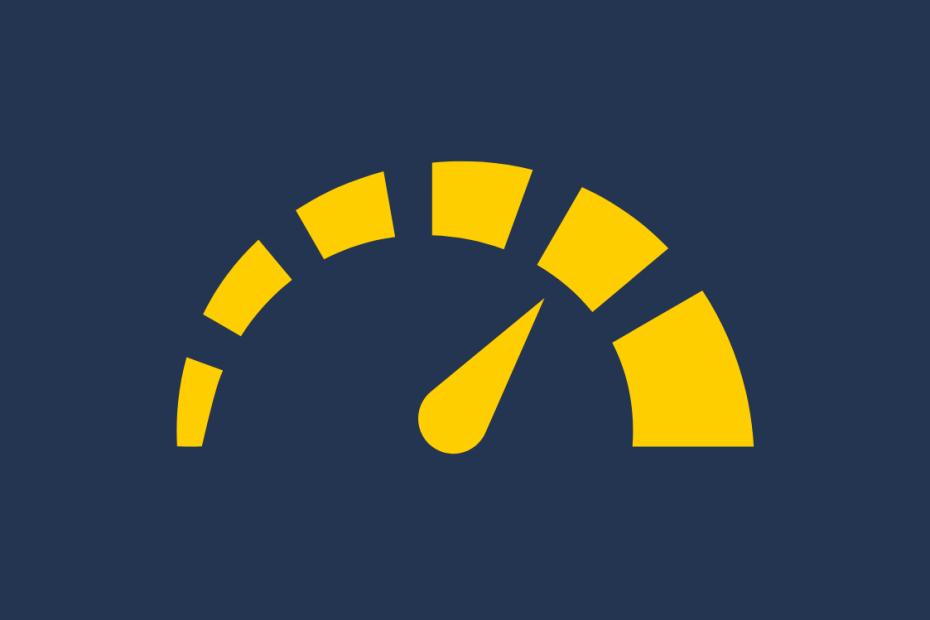 ícone de um velocímetro