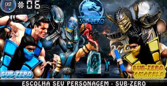 MachineCast #06 – Escolha seu Personagem – Sub-Zero
