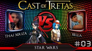 Cast of Tretas #03 – Thai Souza vs Bella