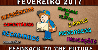 FeedBack To The Future: Fevereiro 2017