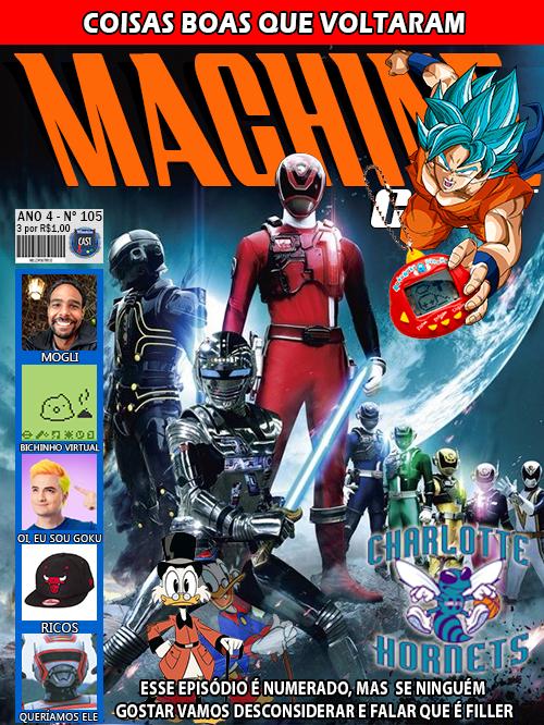 MachineCast #105 – Coisas Boas que Voltaram