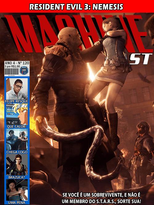 MachineCast #120 – Resident Evil 3: Nemesis