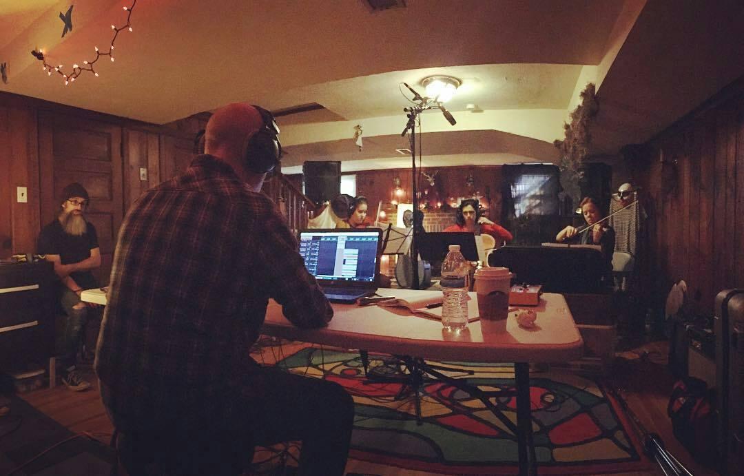 On location recording for Jasmine Gillison. ‡