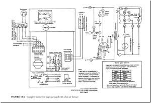 HEATING CIRCUITS:FIELD WIRING | hvac machinery