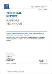 Cover of IEC/TR 62061-1