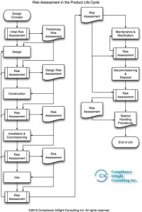 Risk Assessment Lifetime Flow Chart